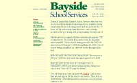 Bayside School Services Home Page