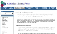 Christian Liberty Press Home Page
