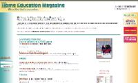 Home Education Magazine Home Page